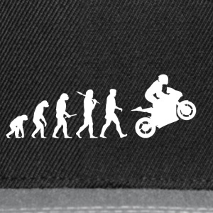 Evolution Motorcycle Bike grappig kerstcadeau - Snapback cap