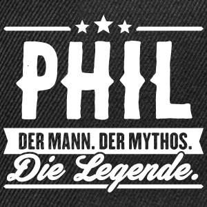 Mann Mythos Legende Phil - Snapback Cap