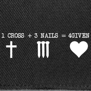 CROSS 1 + 3 + SPIJKERS 4GIVEN - Snapback cap