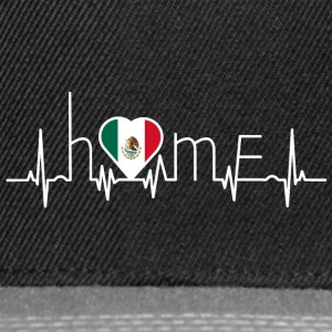 i love home homeland Mexico - Snapback Cap
