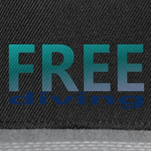 freediving - Casquette snapback