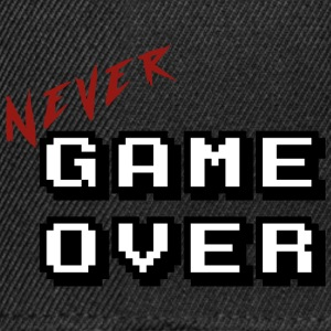 Never game over white - Casquette snapback