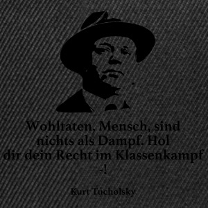Tucholsky: Blessings, man, are nothing but Dam - Snapback Cap