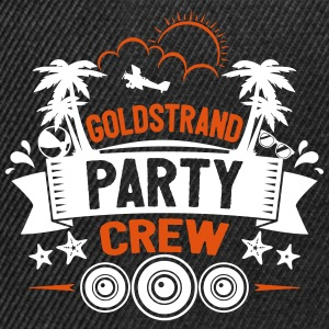 Goldstrand Party Crew - Snapback Cap