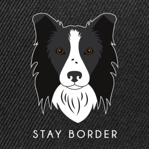 Border Collie - Snapbackkeps