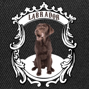 Labrador Retriever braun - this is my dog! - Snapback Cap
