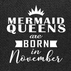 Mermaid Queens November - Snapback Cap