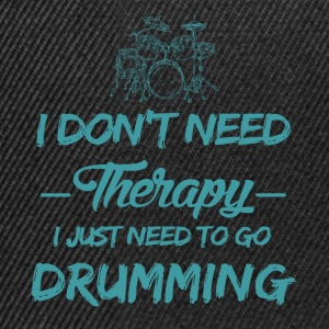 Drums play as a therapy - Snapback Cap