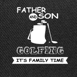 Father And Son - Golfing - Snapback Cap