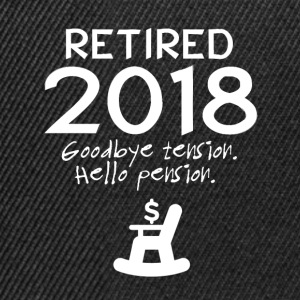 Retired 2018 - Snapback Cap