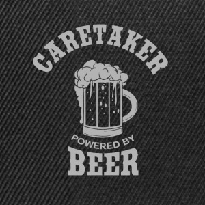 CARETAKER powered by BEER - Snapback Cap