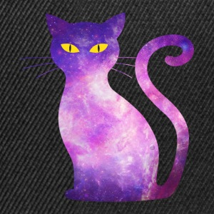 plass cat - Cat Galaxy stjerners Hipster Orion - Snapback-caps