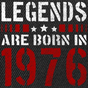 LEGENDS ARE BORN IN 1976 BIRTHDAY CHRISTMAS SHIRT - Snapback Cap