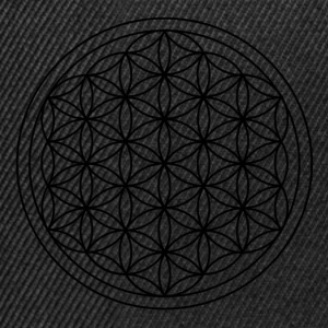 Flower of life - Snapback-caps