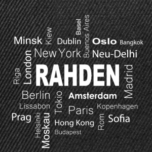 Rahden New York Berlin - Snapback Cap