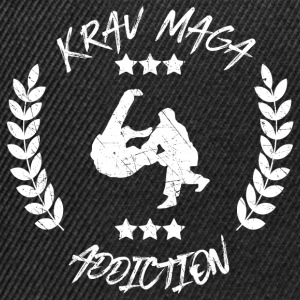 Krav Maga Addiction - Self Defense Defense - Snapback Cap