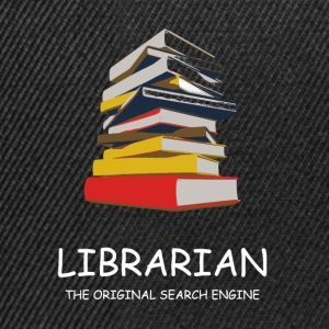 Library Librarian Library Librarian - Snapback Cap