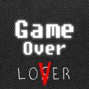 Game over lover w - Snapback Cap