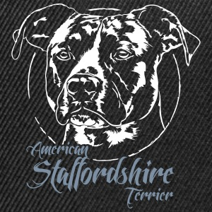 2 staffordshire TERRIER - Casquette snapback