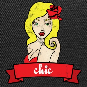 Pin-Up Girl / Rockabilly / 50: Chic - Casquette snapback