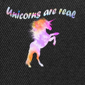 Unicorns are real unicorns - Snapback Cap