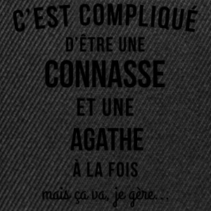 Connasse and Agathe - Snapback Cap