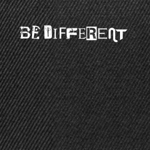 Be different - Snapback Cap
