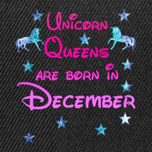 Unicorn Queens född December december - Snapbackkeps