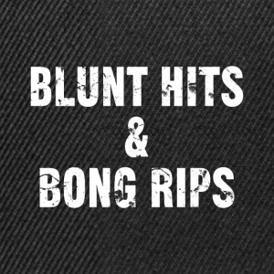 Blunt hits & bong rips - Casquette snapback