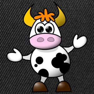 Cow cartoon 5 - Snapback Cap