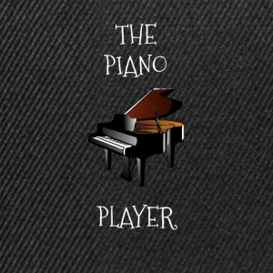 The piano player - Snapback Cap