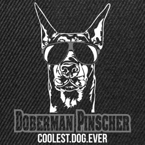 DOBERMAN PINSCHER coolest dog - Snapback Cap