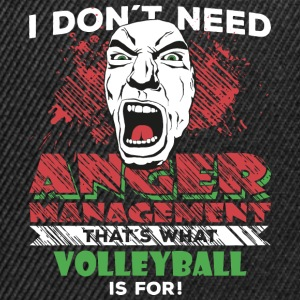 Anger Management - VOLLEYBOLL - Snapbackkeps