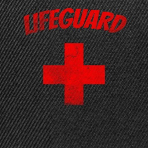 Lifeguard grunge - Rescue Swimmer T-Shirt - Snapback Cap