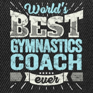 TOP Gymnastics Trainer: Best Gymnastics Coach Ever - Snapback Cap