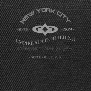 "New York City, ""Empire State Building"" - Casquette snapback"
