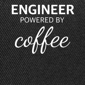 ENGINEER powered by COFFEE lustiges Ingenieur - Snapback Cap