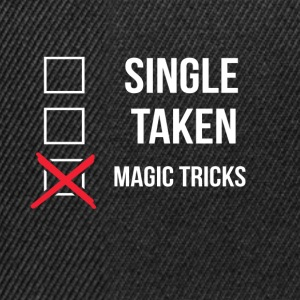 Single Taken Magic Tricks - Snapback Cap