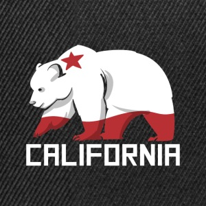 Grizzly Bear California Country USA Animal Design - Casquette snapback