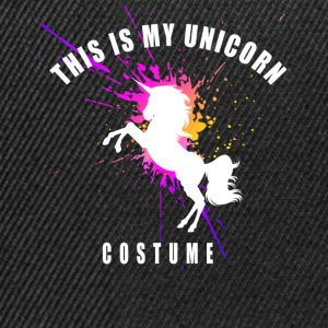 Unicorn costume unicorn magic horse immortal lo - Snapback Cap