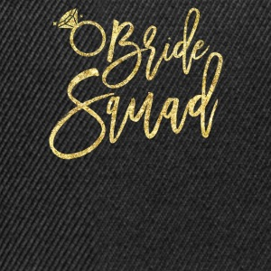 Bride Squad - bachelorette Party lahja - Snapback Cap