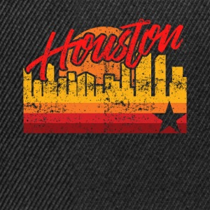 Houston Baseball Throwback Astro Stripe - Snapback Cap