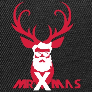 MrXmas_Shirt_red - Snapback Cap