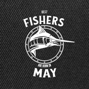 Present for fishers born in May - Snapback Cap