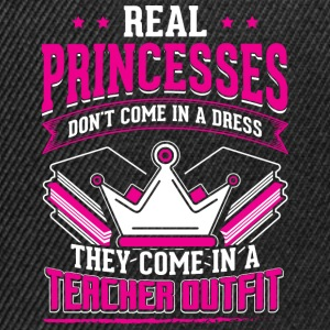 REAL PRINCESSES teacher - Snapback Cap