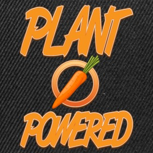 vegan t shirt PLant powered - Snapback Cap