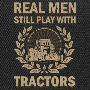 Tractors for real men - Snapback Cap