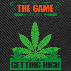 Getting high - Snapback Cap