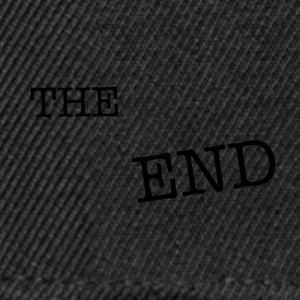 the end - Snapback Cap