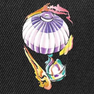heissluftballon watercolor taste of ink tattoo - Snapback Cap